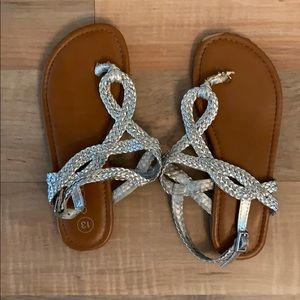 Girls sandals. Size 13.